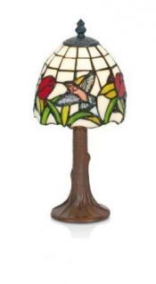 WOHNAMBIENTE Tiffany Tischlampe Art.-Nr.: KT 3280 z. Zt. 1 St. lieferbar Maße: d= 15 cm, Leuchtenhöhe 31 cm, Fassung 1 x E14.