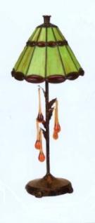 WOHNAMBIENTE Art.-Nr.: LPT 4023 + GTD 0255 Schirm d= 20 cm, Leuchtenhöhe 45 cm, Fassung 1 x E14.