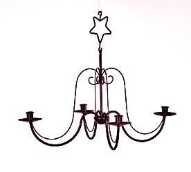WOHNAMBIENTE Kerzenständer, Kerzenhalter Art.-Nr.: 22761 Maße: d= 56 cm, reine Korpushöhe 34 cm.