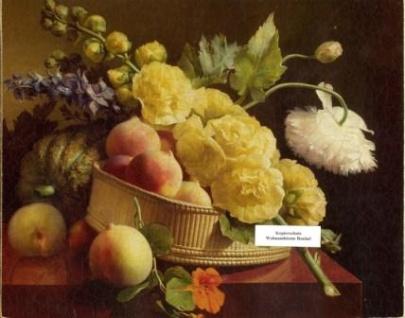 WOHNAMBIENTE Oleographie Art.-Nr.: 2746 Maße: 25, 5 x 20, 5 cm (BxH).