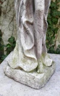 WOHNAMBIENTE Figuren Art.-Nr.: 13522 Allegorische Darstellung des Herbstes, Maße: Sockel 21 x 19 cm, Höhe 81 cm, Gewicht ca. 18 kg. - Vorschau 2