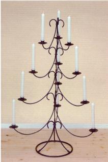WOHNAMBIENTE Kerzenständer, Kerzenhalter Art.-Nr.: 50141 Maße: Höhe 95 cm, max. Durchmesser 65 cm, Fuß d= 28 cm. (Lieferung ohne Kerzen).