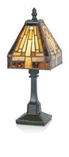 WOHNAMBIENTE Tiffany Tischlampe Art.-Nr.: TF 511 z. Zt. 1 St. lieferbar Maße: d= 15 cm, h= 32 cm, Fassung 1 x E14.