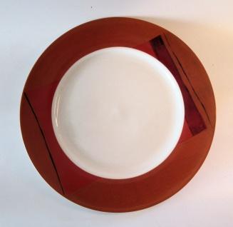 """WOHNAMBIENTE Porzellan, Geschirr Art.-Nr.: O 105 Speiseteller """"Clair de lune"""" von Ona. Maße: d= 27 cm."""