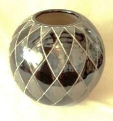 WOHNAMBIENTE Keramik-Vase Art.-Nr.: K 31 Maße: d= 23 cm, Höhe 23 cm,