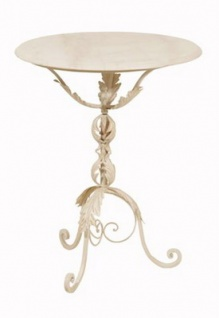 WOHNAMBIENTE Tisch Art.-Nr.: 331122 T Maße: d= 60 cm, h= 76 cm, Gewicht ca. 22 kg.