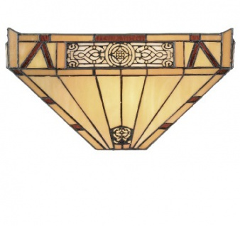 WOHNAMBIENTE Tiffany-Lampe WYT 29 Kreation Tiffany Wandlampe Maße: Schirmbreite 36 cm, Ausladung 13 cm, Höhe 18 cm. - Vorschau