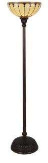 WOHNAMBIENTE Tiffany-Lampe, Bodenlampe Art.-Nr.: TT 106 Schirm d= 38 cm, Leuchtenhöhe 164 cm, Fassung 1 x E27