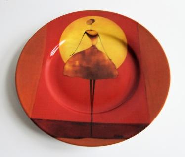 WOHNAMBIENTE Porzellan-Teller, Geschirr Art.- Nr. O 104