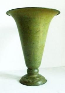 WOHNAMBIENTE Vase Art.-Nr.: KT 45 Maße max.: d= 26 cm, Höhe 34 cm.