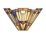 WOHNAMBIENTE Art.-Nr.: W 8802 Maße: Schirmbreite 31 cm, Ausladung 15 cm, Höhe 17 cm.