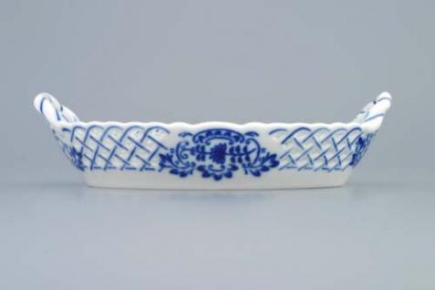 WOHNAMBIENTE Porzellan, Geschirr Art.-Nr.: CB 146, Körbchen I, durchbrochen. Maße: 11 x 16, 5 cm, h= 3, 5 cm, - Vorschau 2