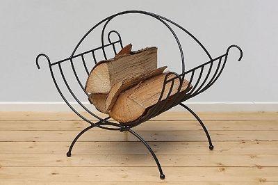 WOHNAMBIENTE Holzkorb Art.-Nr.: 49202 B Maße: 52 x 38 cm, 46 cm hoch.