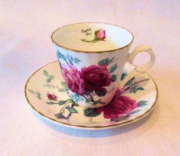 WOHNAMBIENTE Espresso-Gedeck Art.-Nr.: 704 2-tlg. Espresso-Gedeck (Tasse und Untertasse) Maße: Tasse d= 7 cm, h= 6 cm, U-Tasse d= 12, 5 cm,