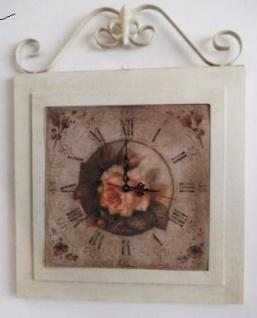 WOHNAMBIENTE Art.-Nr.: 52017 Maße: 40 x 52 cm (BxH). Uhr mit Batteriewerk, 1, 5 Volt.