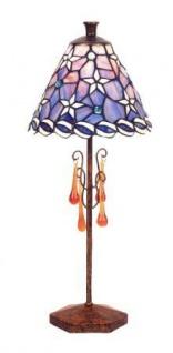 WOHNAMBIENTE Tiffany-Lampe, LPTb 4024 + GTD 0252