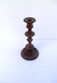 WOHNAMBIENTE Kerzenständer, Kerzenhalter Art.-Nr.: K 1014 Maße: d= 12, 5 cm am Leuchterfuß, Höhe 25 cm.