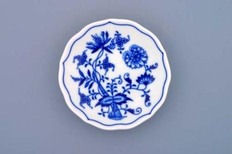 WOHNAMBIENTE Porzellan, Geschirr Art.-Nr.: CB 016, Untertasse Mokka Maße: d= 11 cm, h= 2 cm.