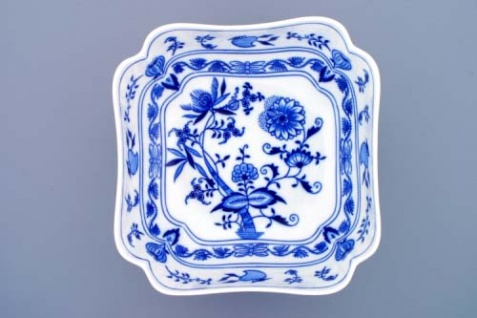 WOHNAMBIENTE Porzellan, Geschirr Art.-Nr.: CB 062, Schüssel, Salat V, 4-eckig Maße: Kantenlänge 24 cm, h= 10 cm,