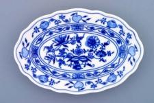 WOHNAMBIENTE Porzellan, Geschirr Art.-Nr.: CB 066, Platte I, oval Maße: Länge 20 cm, h= 2, 5 cm,