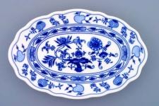 WOHNAMBIENTE Porzellan, Geschirr Art.-Nr.: CB 068, Platte III, oval Maße: Länge 28 cm, h= 4 cm,