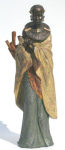 WOHNAMBIENTE Figuren Art.-Nr.: 13207 Maße: d= ca. 14 cm, h= 42 cm.