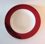 """WOHNAMBIENTE Porzellan, Geschirr Art.-Nr.: O 107 Suppenteller """"Clair de lune"""" von Ona Maße: d= 23 cm, h= 3, 5 cm."""