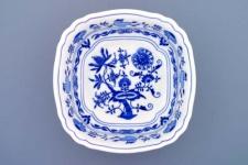 WOHNAMBIENTE Porzellan, Geschirr Art.-Nr.: CB 064, Schüssel, salat VI, 4-eckig Maße: Kantenlänge 21 cm, h= 7 cm,