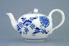 WOHNAMBIENTE Porzellan, Geschirr Art.-Nr.: CB 028, Teekanne, Maße: Volumen 0, 95 ltr. Höhe 12 cm. Kanne mit Sieb.