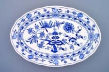 WOHNAMBIENTE Porzellan, Geschirr Art.-Nr.: CB 072, Platte VII, oval Maße: Länge 43 cm, h= 5 cm,