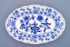 WOHNAMBIENTE Porzellan, Geschirr Art.-Nr.: CB 070, Platte V, Maße: 35 x 23 cm, h= 4 cm, Form oval