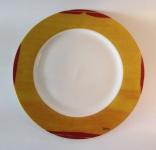 """WOHNAMBIENTE Porzellan, Geschirr Art.-Nr.: O 111 Speiseteller """"Danseuse"""" von Ona Maße: d= 27 cm."""