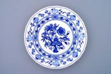WOHNAMBIENTE Porzellan, Geschirr Art.-Nr.: CB 005, Teller, flach Maße: d= 26 cm, h= 3 cm.