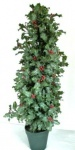 WOHNAMBIENTE Kunstpflanzen Art.-Nr.: P 13 Maße ca.: d= 25 cm, Gesamthöhe 90 cm.