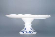 WOHNAMBIENTE Porzellan, Geschirr Art.-Nr.: CB 044, Tortenplatte auf Fuß, Maße: d= 31 cm, h= 12 cm.