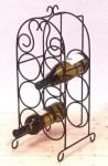 WOHNAMBIENTE Flaschenständer Art.-Nr.: 13223 B Maße: 23, 5 x 57 x 22 cm (BxHxT).
