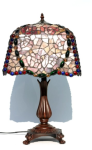 WOHNAMBIENTE Art.-Nr.: 80297 Schirm d= 34 x 34 cm, Leuchtenhöhe 64 cm, Fassung 1 x E27