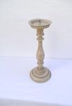 WOHNAMBIENTE Kerzenständer, Kerzenhalter Art.-Nr.: K 1010 Maße: d= 15 cm, h= 38 cm,