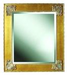WOHNAMBIENTE Wandspiegel Art.-Nr.: LPA 6393 M Maße: 70 x 80 cm (BxH) im Hochformat, Rahmen-Außenmaß. Spiegelmaß 50 x 60 cm (BxH)