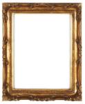 WOHNAMBIENTE Bilderrahmen Art.-Nr.: FA 007 G Maße: 49 x 39 x 5, 5 cm (Außenmaß), Bildausschnitt 37, 5 x 27, 8 cm, Falzmaß 39 x 29 cm, Rahmenquerschnitt max.: 5, 5 x 5, 5 cm.