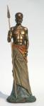 WOHNAMBIENTE Figuren Art.-Nr.: 13206 Maße: d= 14 cm, h= 42, 5 cm