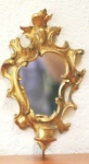 WOHNAMBIENTE Kerzenständer, Kerzenhalter Art.-Nr.: 10187 L Maße: 18 x 34 cm (B x H), Ausladung 12 cm.