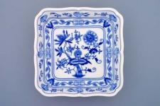 WOHNAMBIENTE Porzellan, Geschirr Art.-Nr.: CB 059, Schüssel, Salat III, 4-eckig Maße: Kantenlänge 24 cm, h= 5, 5 cm.