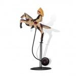 WOHNAMBIENTE Balancefigur Art.-Nr.. 67070 B= ca. 32 cm, H= ca. 53 cm (im Ruhestand),