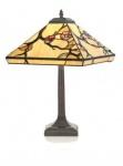 WOHNAMBIENTE Tiffany Tischlampe Art.-Nr.. T 14209 P 533 L Maße: d = 36 cm, Leuchtenhöhe 52 cm, Fassung 1 x E27.