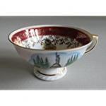 WOHNAMBIENTE Espressoset Art.-Nr.: BA 72 Bavaria-Porzellan, Echtgold, handgemalt,
