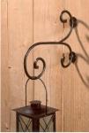 WOHNAMBIENTE Wandhalterung Art.-Nr.: 35537 Maße: Ausladung 31 cm,. h= 25 cm.