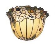 WOHNAMBIENTE Tiffany Wandlampe Art.-Nr.: TT 90 Schirm Breite 30 cm, Fassung 1 x E27