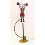 WOHNAMBIENTE Balancefigur Art.-Nr.: 67039 B= ca. 21 cm, H= ca. 58 cm (im Ruhestand),