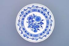 WOHNAMBIENTE Porzellan, Geschirr Art.-Nr.: CB 053, Kompott-Schüssel Maße: d= 21 cm, h= 6, 5 cm.